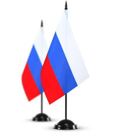 Официальный флаг Российской Федерации (флагшток)